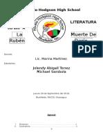 La Muerte de Ruben Dario