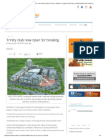 Trinity Hub Now Open for Booking