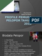PROFILE PEMUDA PELOPOR TAHUN 2016.pptx