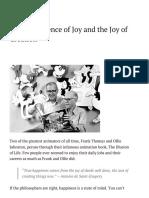 The Transcience of Joy and the Joy of Creation _ AnimatedSpirit