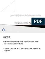 SRHR - Bengkulu