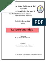 Fundamentos de La Psicología Médica y Definición Del Campo