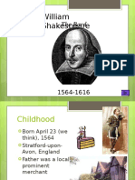 ShakespeareLifeTimesIntroductionPowerpointPresentation.ppt