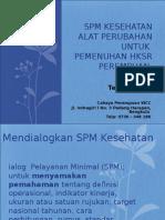 SPM Kesehatan Untuk Pemenuhan HKSR Perempuan -CP WCC 2016