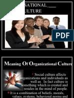 Organisational Culture