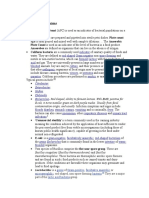 Indicator bacteriologyOrganisms