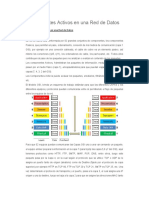 Componentes Activos en Una Red de Datos