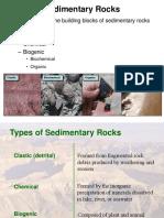 Lecture 5B Sedimentary Rocks