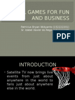 Global Games for Fun and Business (international business case 1)