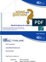 PIM Introduction to Action Learning September 2016 Distribution