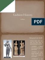 Fashion History Indian