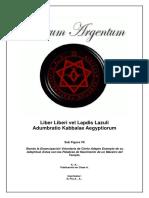 0007.- Liber Liberi Vel Lapdis Lazuli
