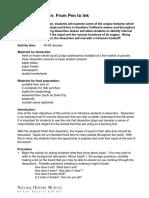 M-16 Student Worksheet Full Activity