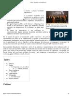 Político - Wikipedia, La Enciclopedia Libre