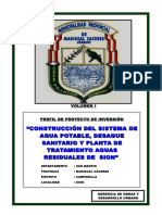 PERFIL DE PROYECTO AGUA,DESAGUE,TRATAMIENTO SION.doc