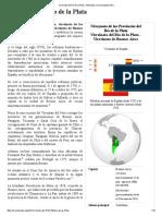Virreinato Del Río de La Plata - Wikipedia, La Enciclopedia Libre