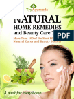 Natural Home Remedies Beauty Care eBook Sample