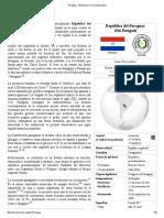 Paraguay - Wikipedia, La Enciclopedia Libre