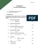 Lab 6_DMT121 - Voltage Divider Biasing