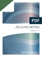 OLGA 7.1.3 Release Notes