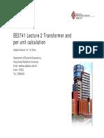 EE3741_L2_Transformer and Per Unit