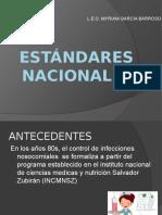 estándares nacionales2012
