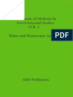 S.K.maiti-Water and Wastewater Analysis (Handbook of Methods in Environmental Studies Vol. 1) (1)