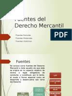 Fuentes Del Derecho Mercan Til