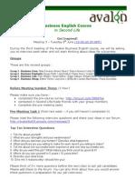 03 AVALON Business English June 01 2010