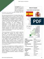 España - Wikipedia, La Enciclopedia Libre