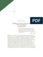 Agnese Sartori_ Simbólica de La Tradición Precolombina. 1a. Parte