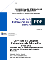 Difusion Curriculo Efl