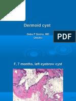 Dermoid Cyst. F, 7 Months, Left Eyebrow.