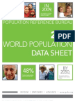 World Population Data Sheet 2009
