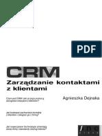 4.Agnieszka Dejnaka - CRM Zarządzanie Kontaktami z Klientami