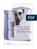 Roberto Bolano - Convorbiri Telefonice[v.2.0]