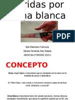 Heridas Por Arma Blanca  / Medicina Legal Mexico
