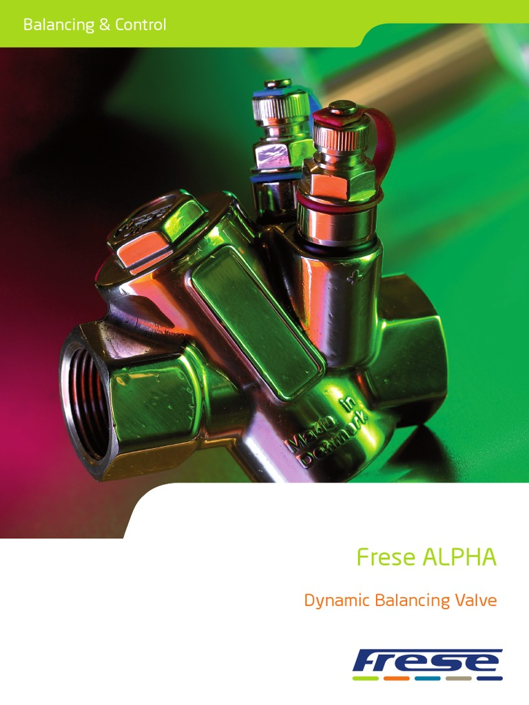 Frese Armaturen en brochure frese alpha hvac valve