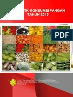 Buku Statistik Konsumsi 2015