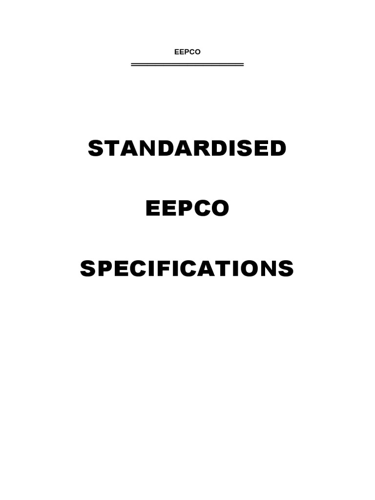 PDF Specs Text and Tech Schedules | Specification (Technical ...