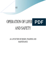 Operation of Lifeboats