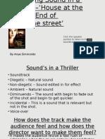 Analysing Sound - Media