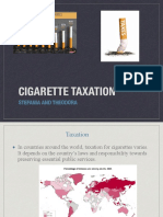 Economics ciggarate taxation PDF