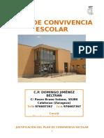 Plan Convivencia Escolar 2015- 2016