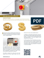 New and creative products - Dough extruder