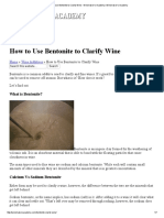 How to Use Bentonite to Clarify Wine - Winemaker's Academy _ Winemaker's Academy