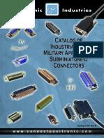 Positronic Sub D Connector