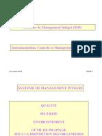 Systeme de Management Integre Qse