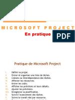 Ms Project en Pratique