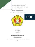 Perbandingan pertanian Cina dan Indonesia